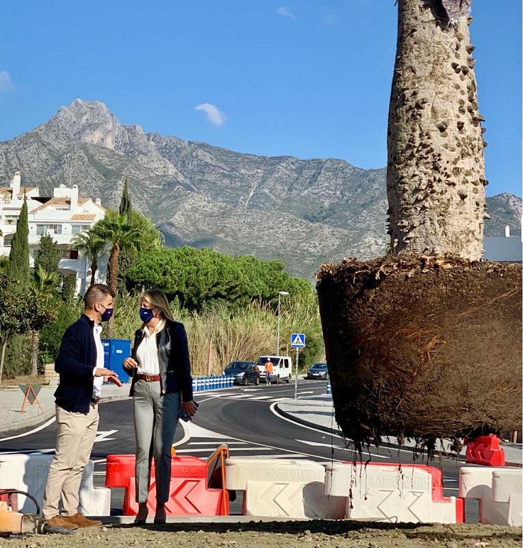 2.000 árboles más para Marbella. El bosque urbano de la Costa del Sol