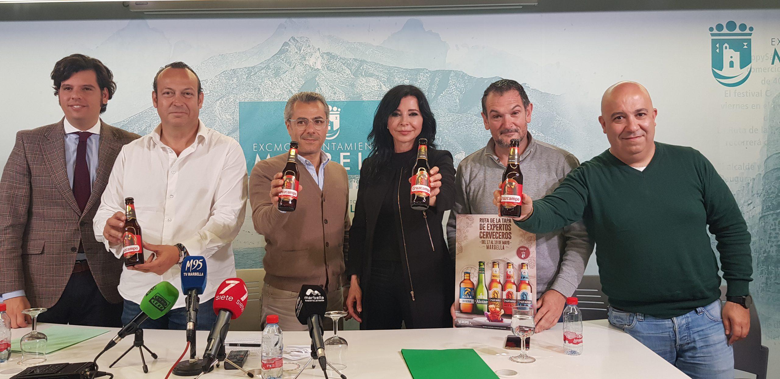 Marbella albergará del 17 al 19 de mayo la Ruta de la Tapa de Expertos Cerveceros de España