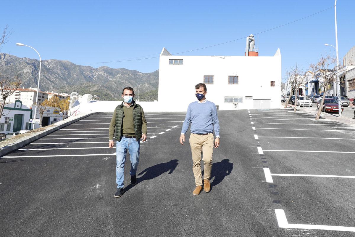 40 nuevos aparcamientos en el Polígono La Ermita
