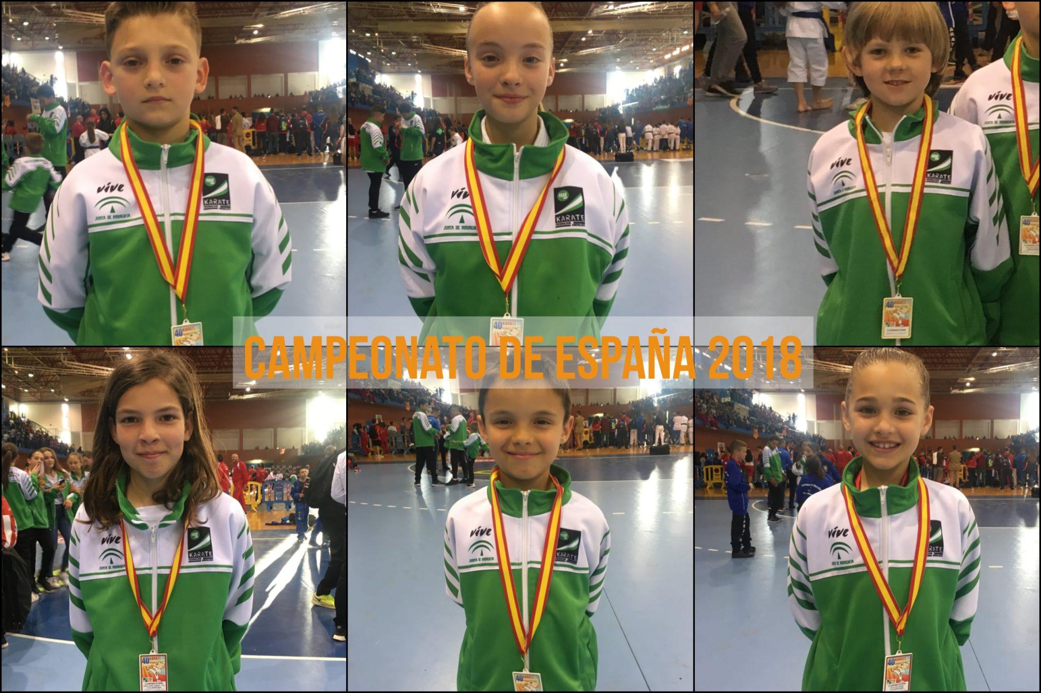 Olympic Karate Marbella logra 6 títulos en el Campeonato de España de Kárate Infantil