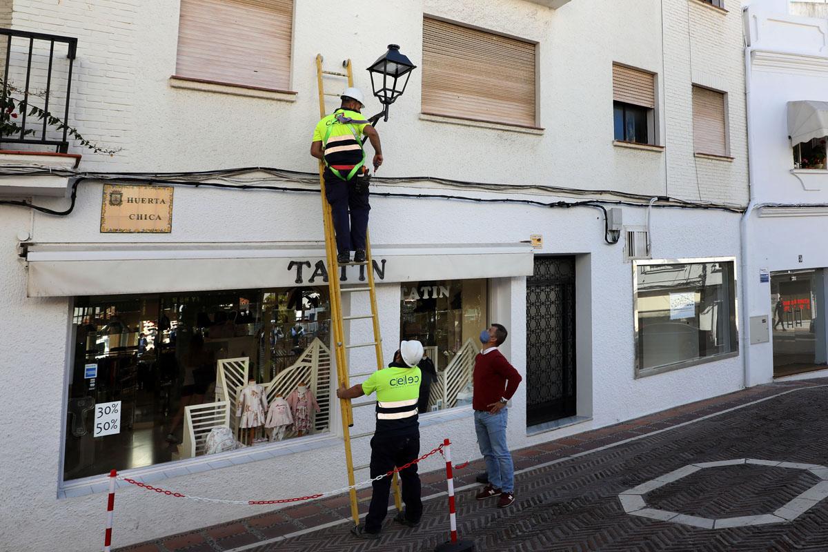 61.000 kilos menos de CO2 por la eficiencia energética del centro de Marbella