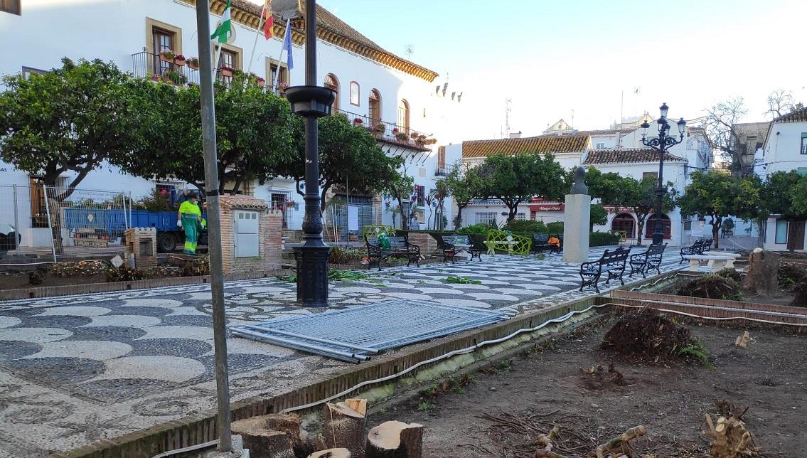 A vueltas con la Plaza de los Naranjos