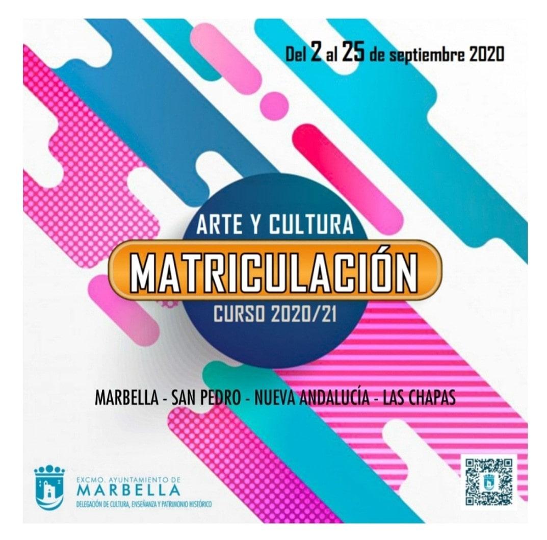 Abren el plazo de inscripción para la oferta formativa de Arte y Cultura en el municipio