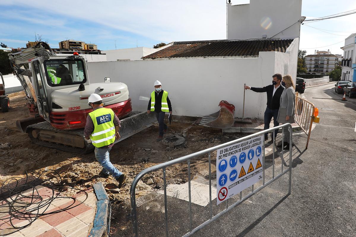 Acondicionamiento integral de la calle Postigo por el Plan de mejora de las infraestructuras en el Casco Antiguo
