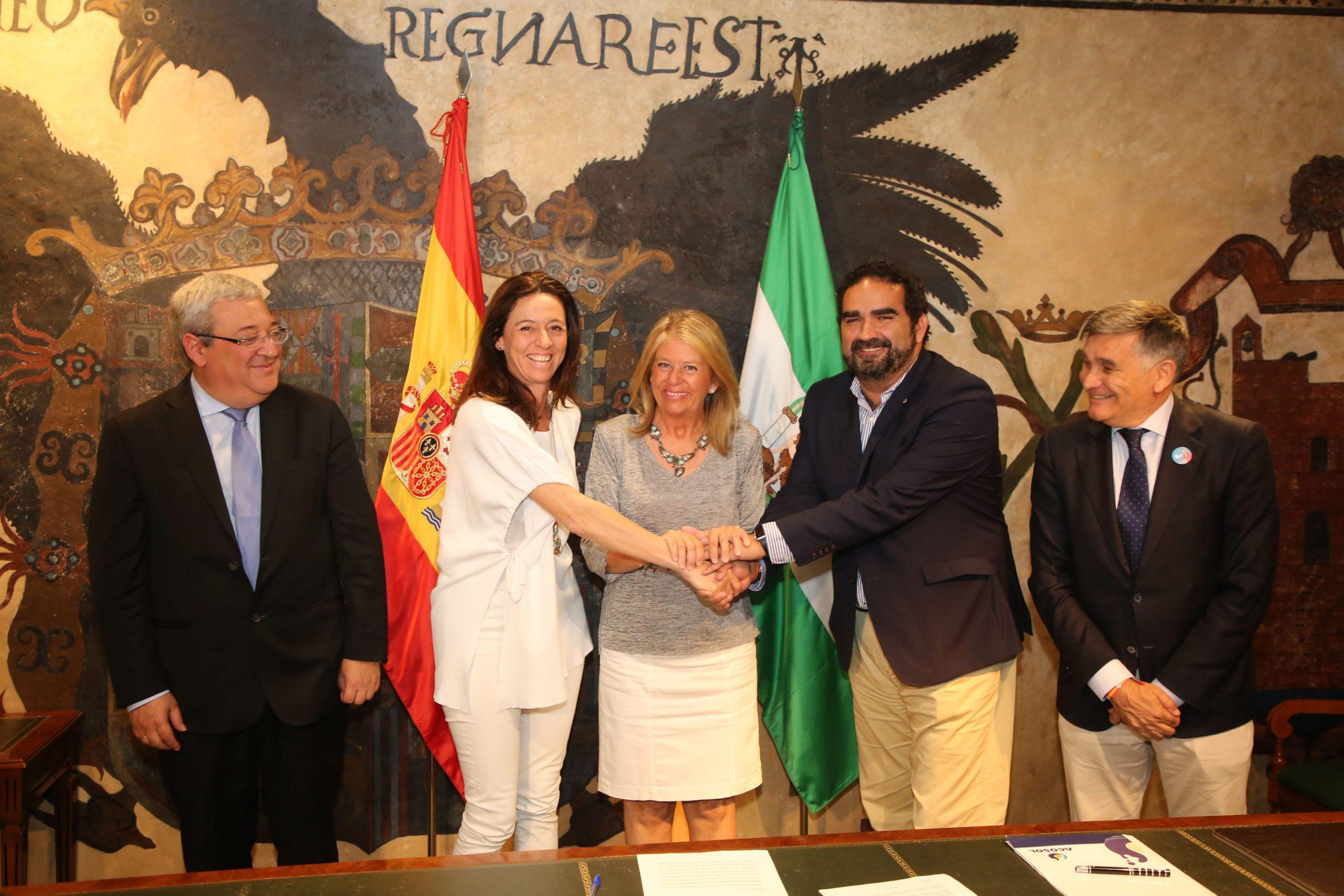 Acosol e Hidralia firman un convenio marco para impulsar inversiones hidráulicas en el municipio