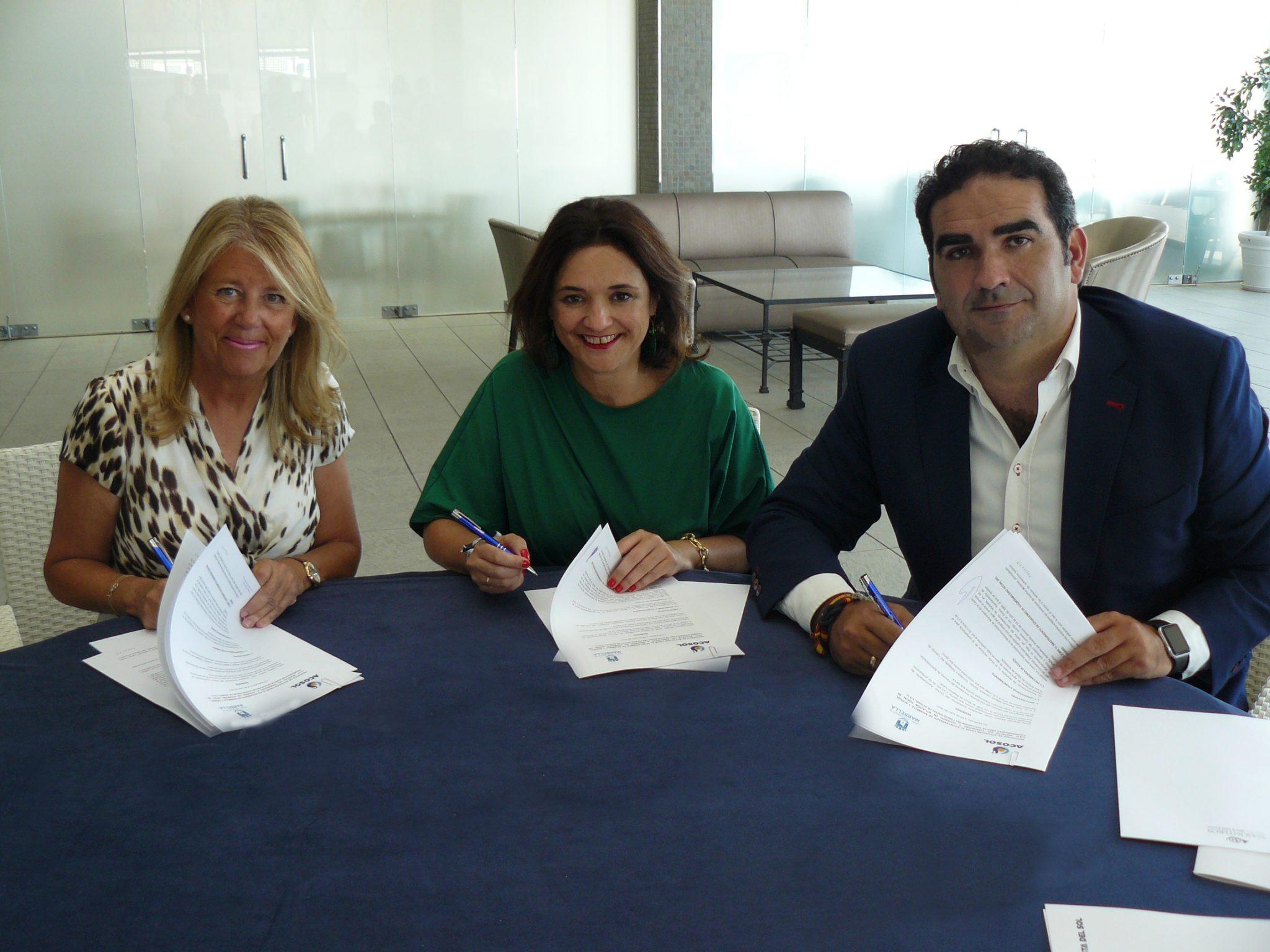 Acosol y el Ayuntamiento de Marbella garantizarán el suministro de agua a las personas con pocos recursos