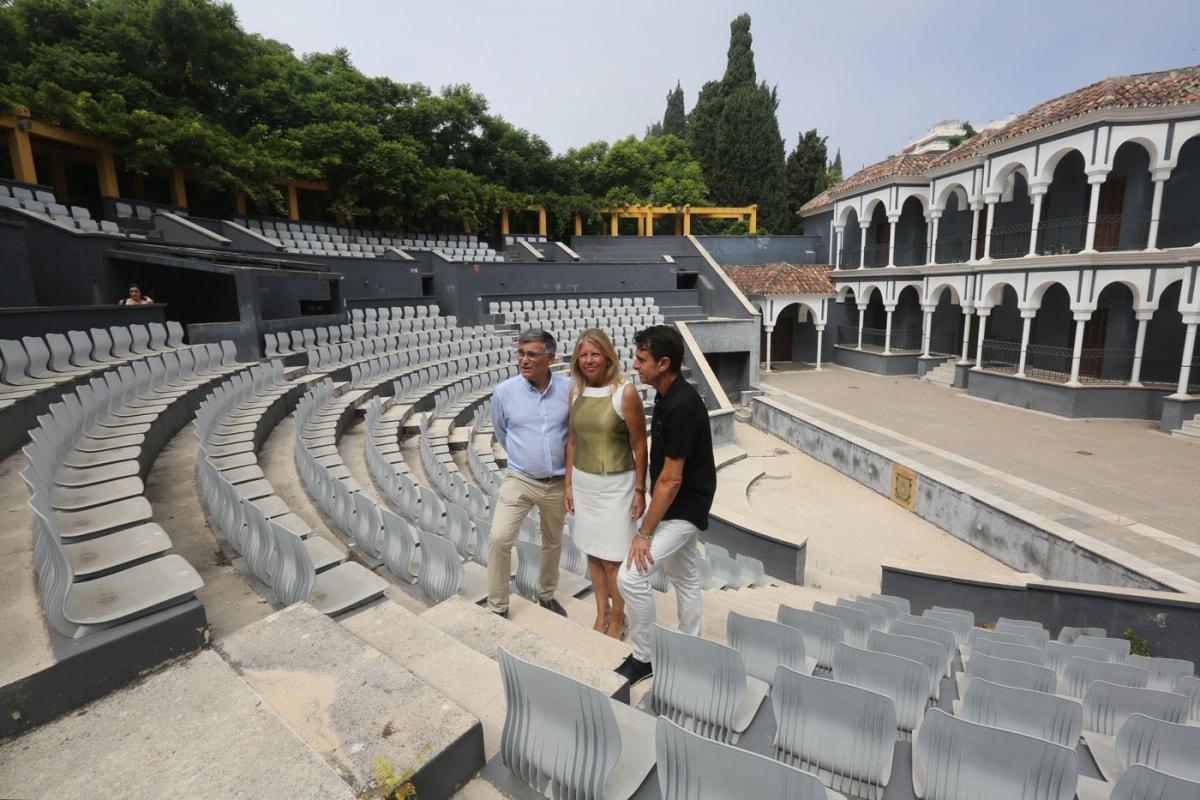 El Ayuntamiento de Marbella acomete una batería de actuaciones en el parque de la Constitución