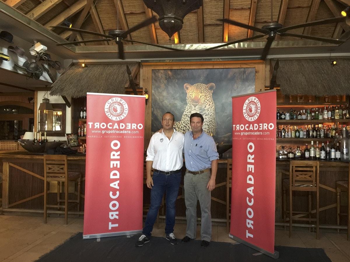 El grupo Trocadero renueva su apuesta por el Marbella Rugby Club