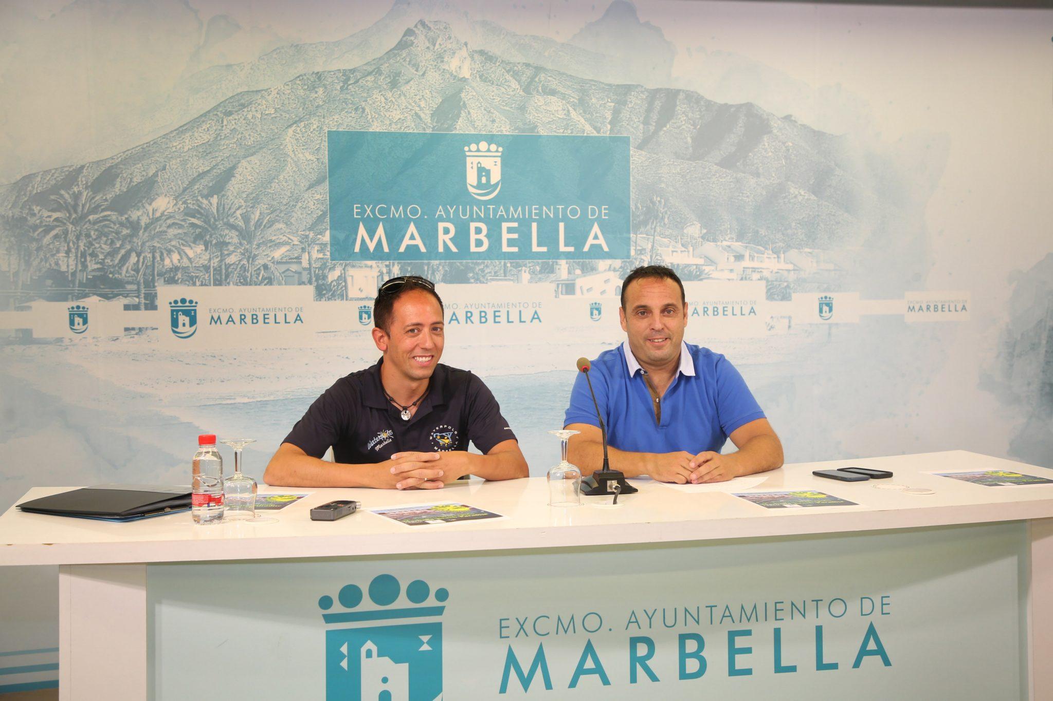 Alrededor de 150 jugadores participarán este fin de semana en el VIII Torneo de Waterpolo Marbella Beach Paradise