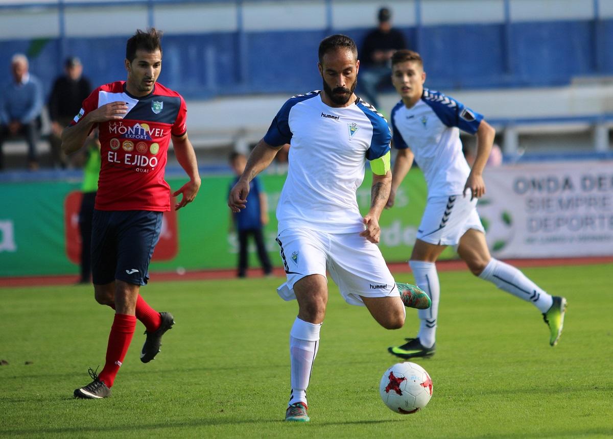 El Marbella FC doblega a El Ejido y sigue haciendo del Estadio Municipal un fortín