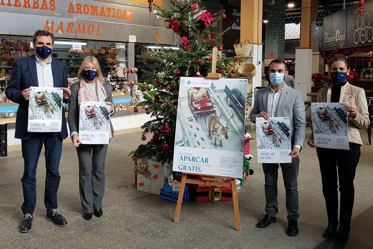Aparcamiento gratis en el Mercado Central para Navidad
