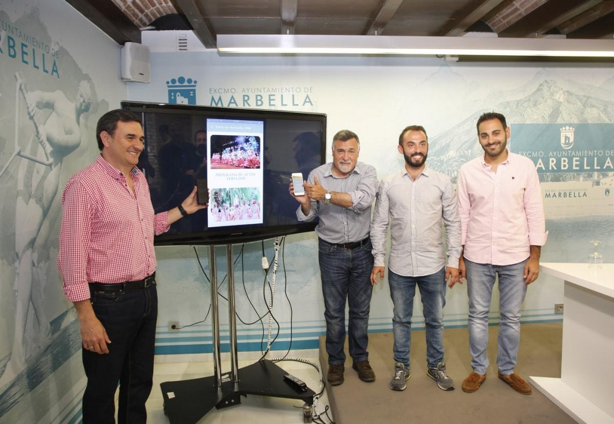 Marbella contará por primera vez con una aplicación móvil para la Feria de Marbella, de forma gratuita