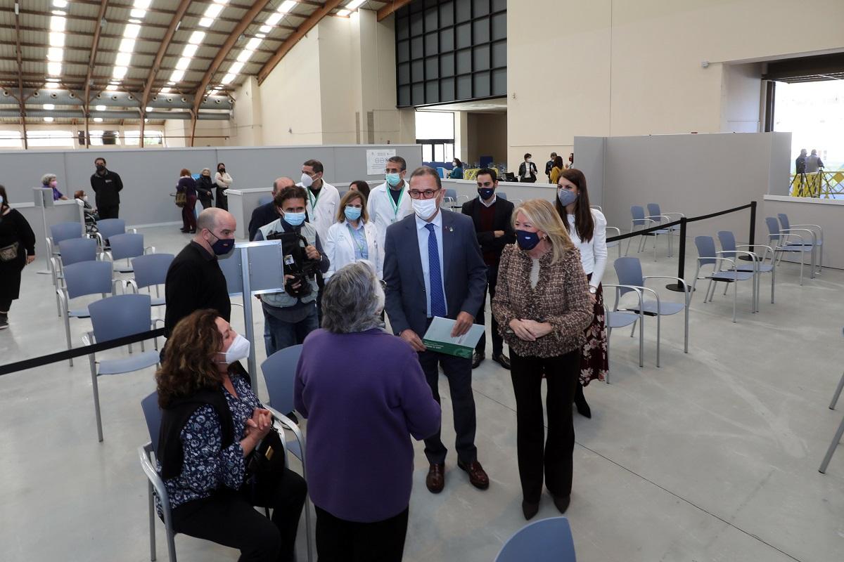 Arranca la vacunación masiva Covid en Marbella y San Pedro Alcántara