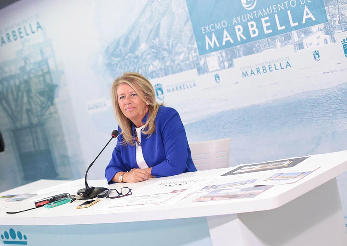 avance balance de la alcaldesa Ángeles Muñoz