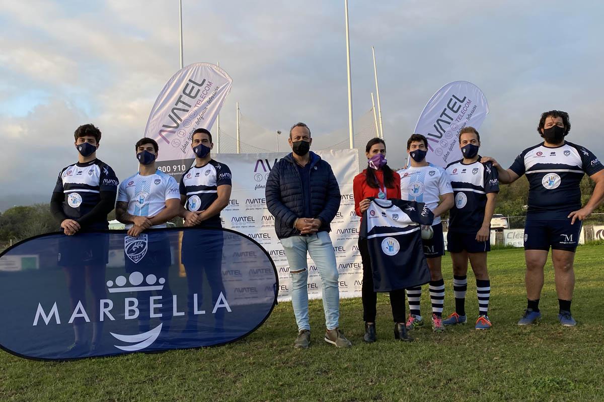 Avatel renueva patrocinio con el Rugby Marbella