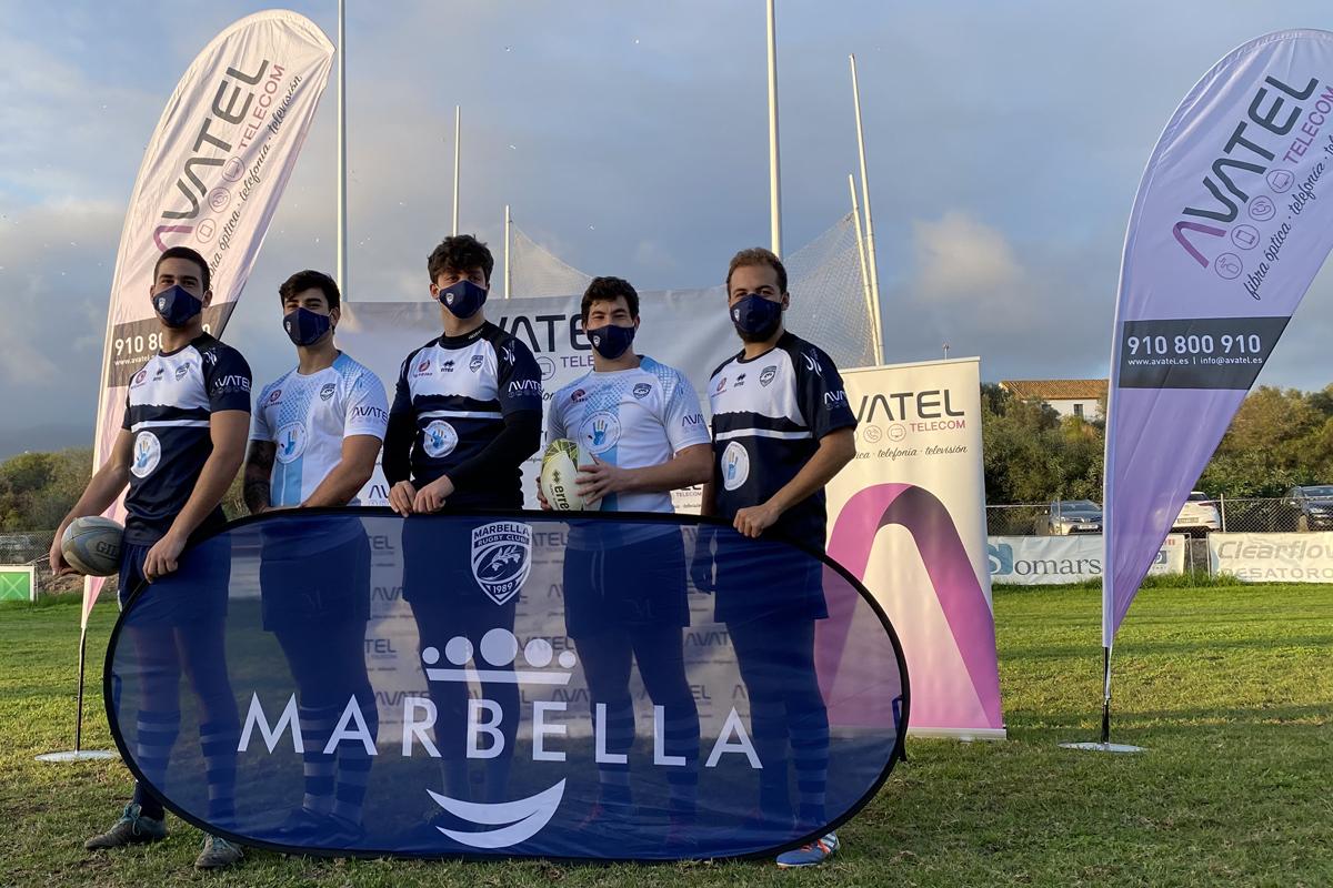 Avatel renueva patrocinio con el Rugby Marbella 2