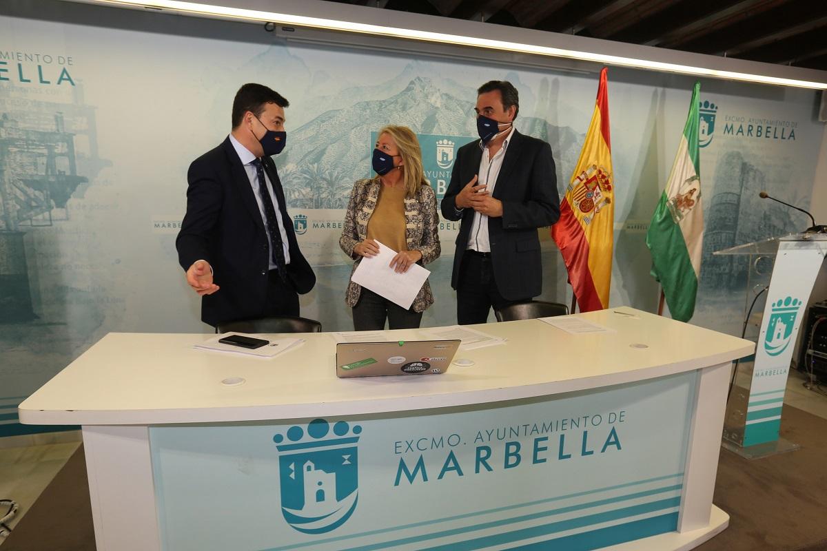 Ayudas directas de entre 2.000 y 3.000 euros por negocio en Marbella