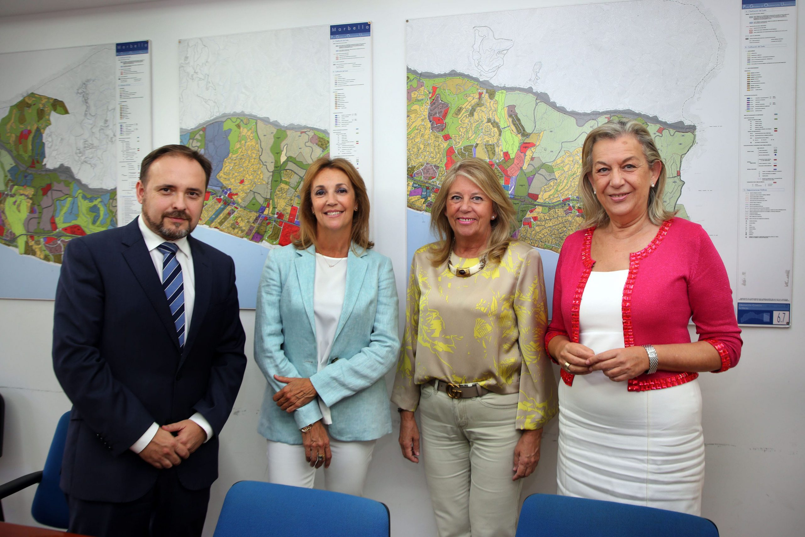 Ayuntamiento y Junta se reúnen para abordar el futuro Palacio de la Justicia de Marbella