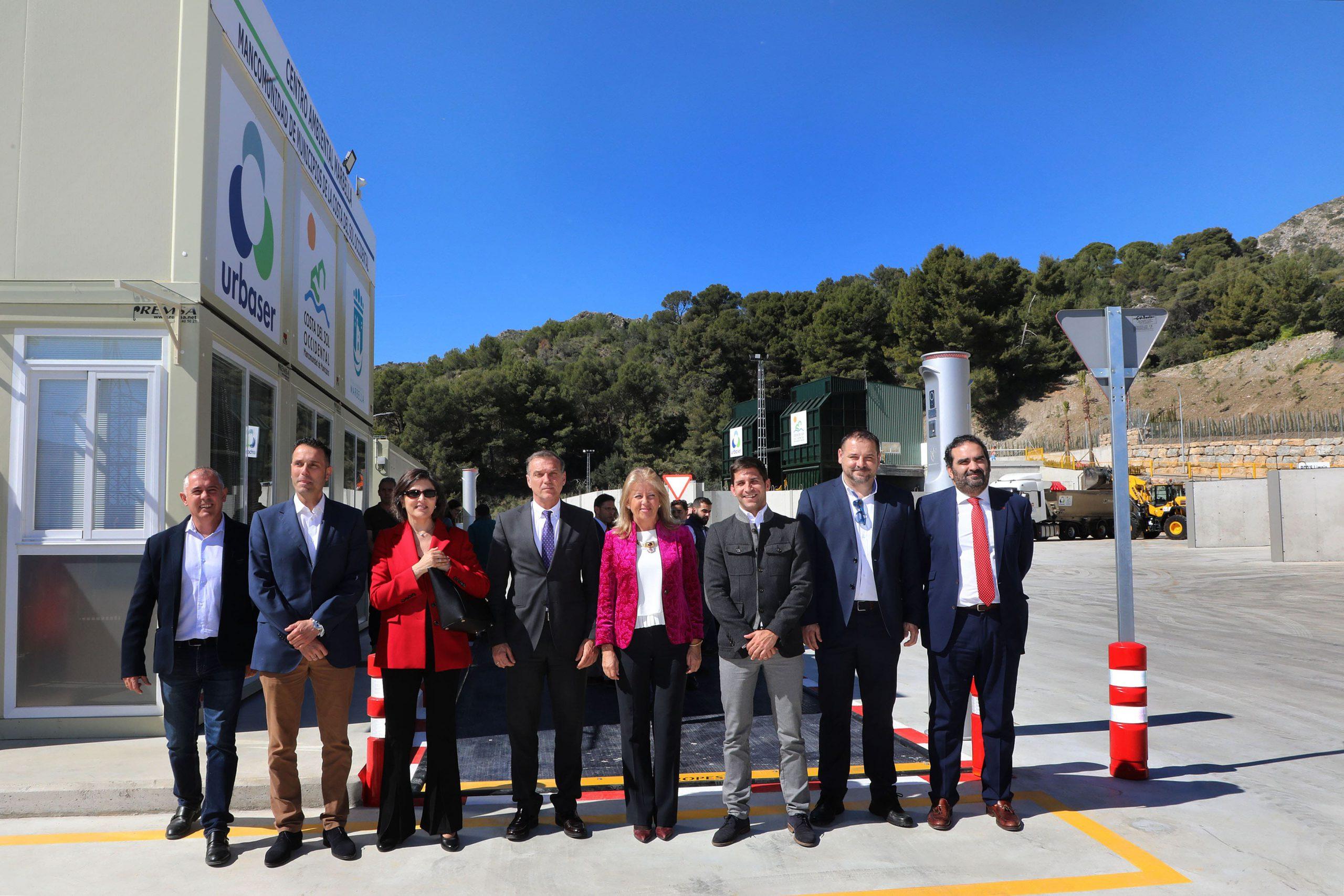 Ayuntamiento y Mancomunidad ponen en funcionamiento el nuevo Centro Ambiental de Marbella