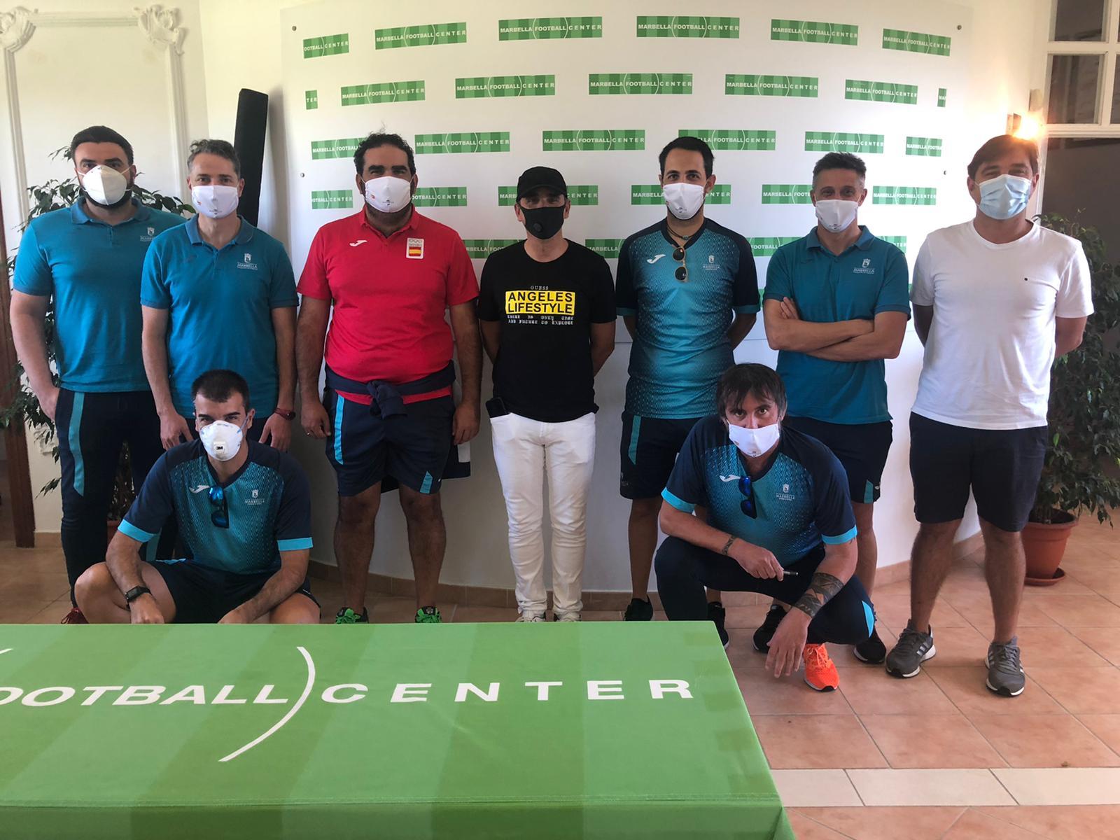 Ayuntamiento y Marbella Football Impact trabajan en la preparación de los playoff de ascenso a Segunda B