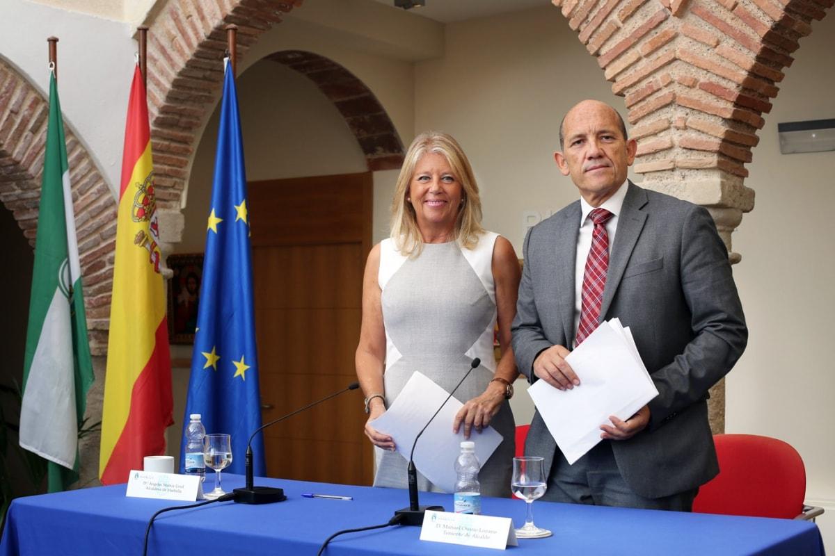 La alcaldesa de Marbella hace balance del primer ejercicio de gobierno