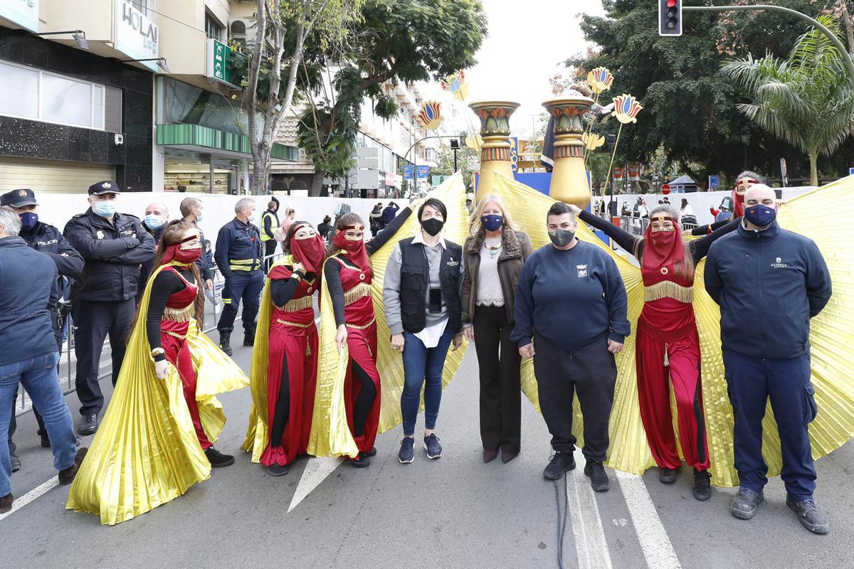 Carrozas estáticas para llenar de ilusión Marbella y San Pedro Alcántara