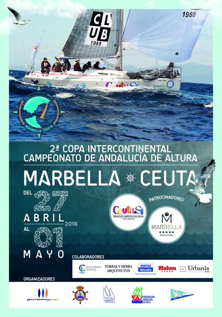 Marbella y Ceuta se preparan para la II Copa Intercontinental de Crucero