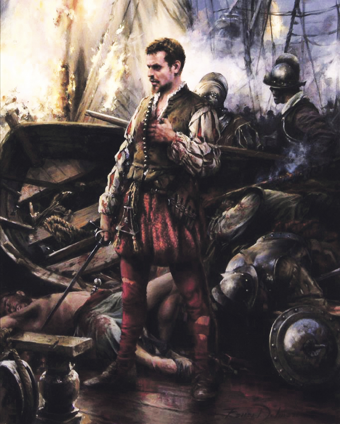 Cervantes en Lepanto