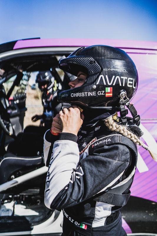 Christine GZ logra el tercer puesto en el Rally Andalucía