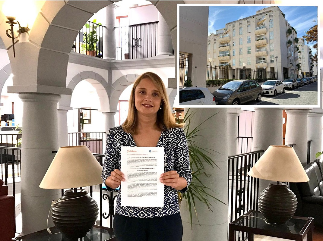 Ciudadanos Marbella pedirá una zona azul en los alrededores de la urbanización La Zambomba