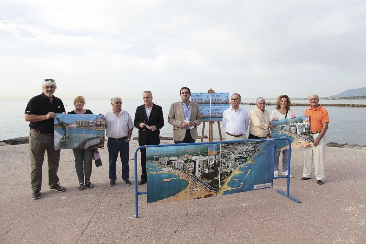 Un concurso de dibujo y pintura ayudará a divulgar la propuesta para la instalación de espigones transitables en las playas