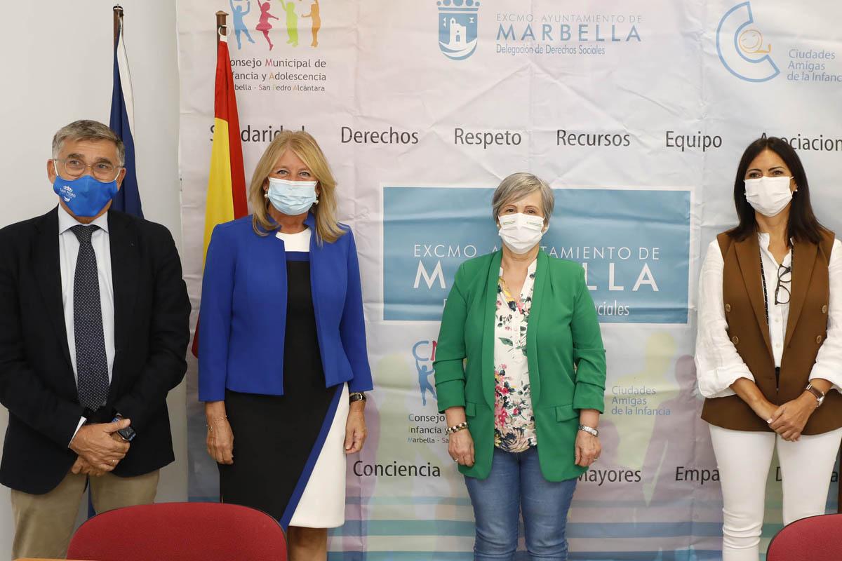 Cruz Roja, AFA Marbella y Afisamp San Pedro recibirán casi medio millón de euros