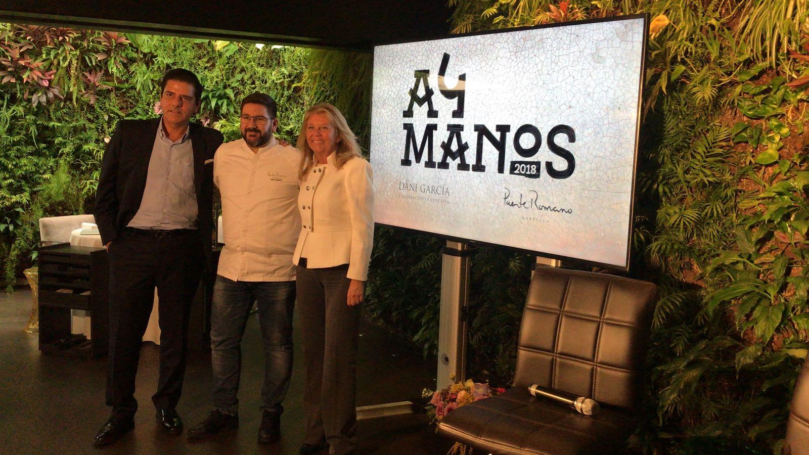 Dani García reunirá a una veintena de referentes de la alta gastronomía en el hotel Puente Romano