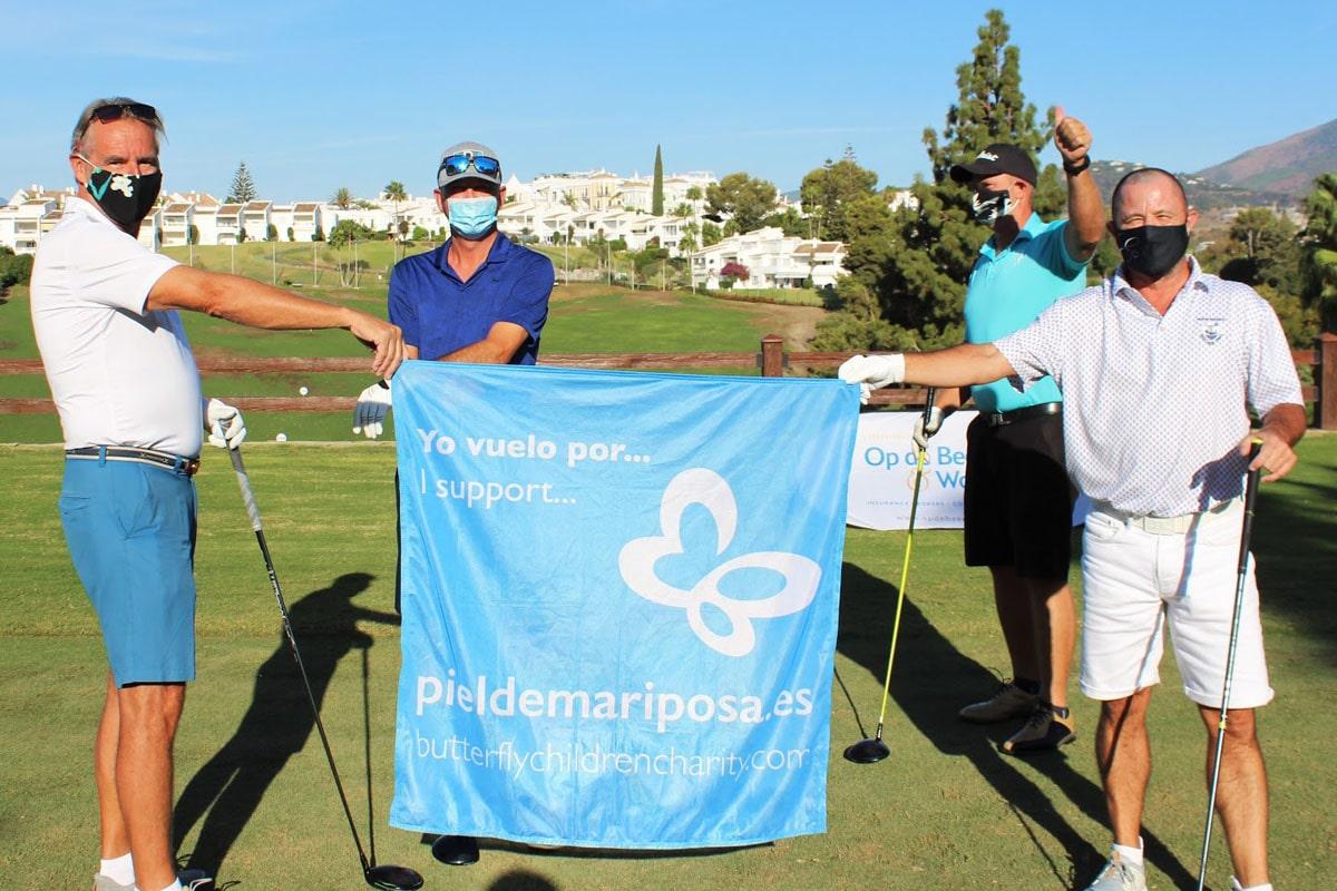 DEBRA Piel de Mariposa recauda más de 17.000€ en el Torneo de Golf Solidario 'Butterfly Children'