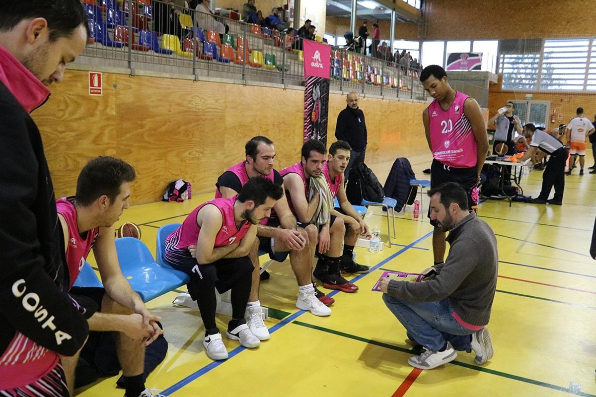 Debut con victoria del Seandblue CB Costa Marbella en su primer partido de Copa Federación