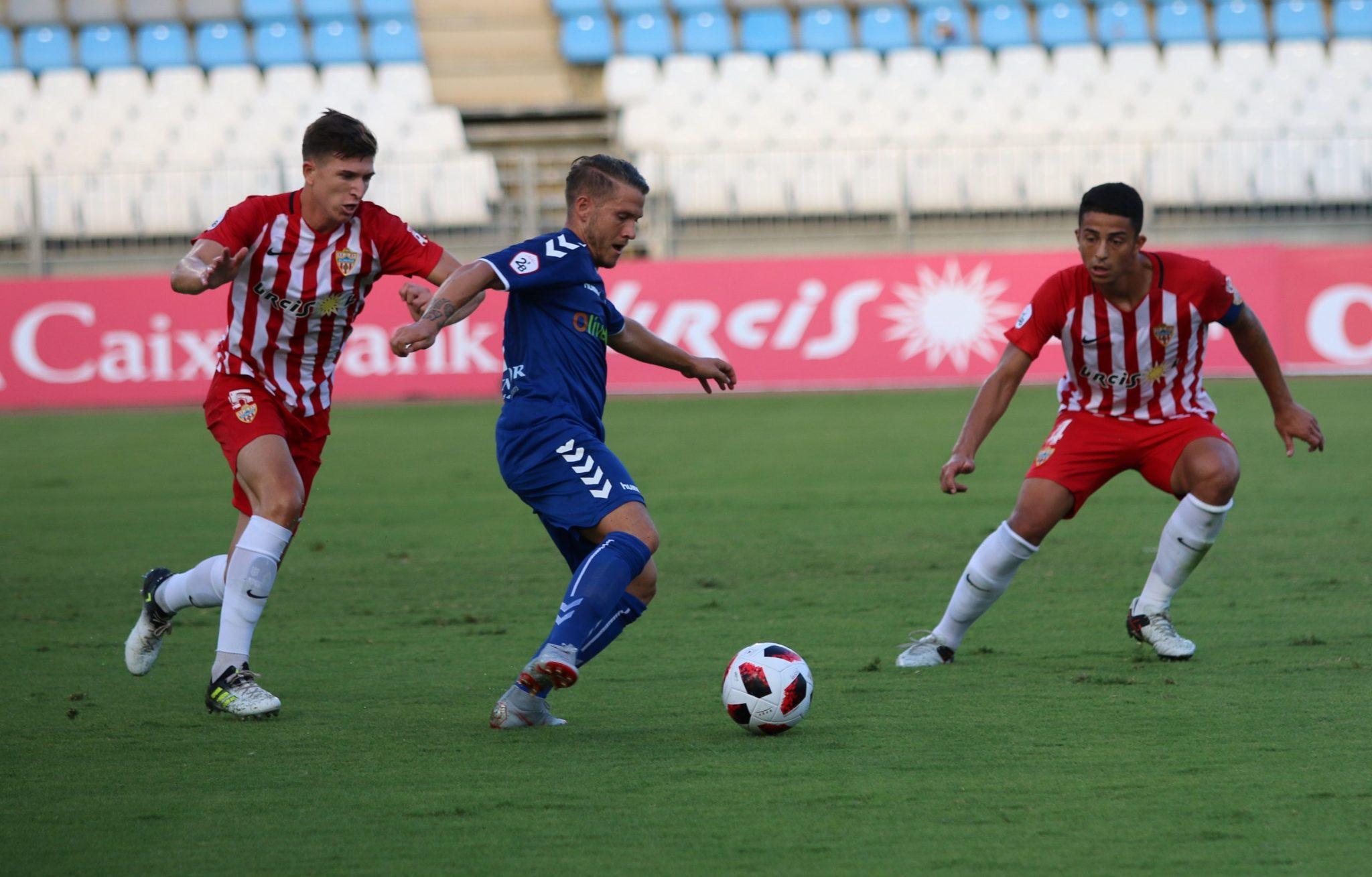 Derrota del Marbella en el inicio de temporada frente el Almería B (2-1)
