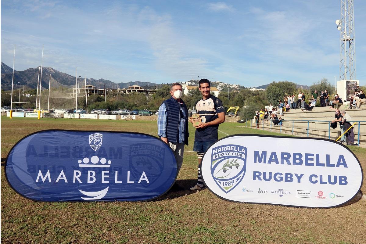 Derrota del Marbella Rugby Club ante uno de los aspirantes al ascenso