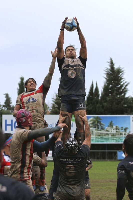 Derrota y victoria en los dos duelos del Rugby Marbella del fin de semana