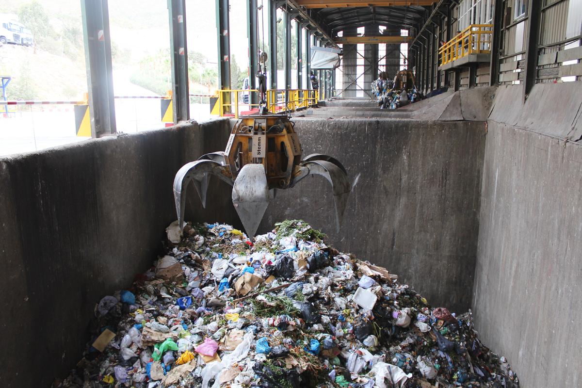 Descenso en recogida de residuos en Costa del Sol
