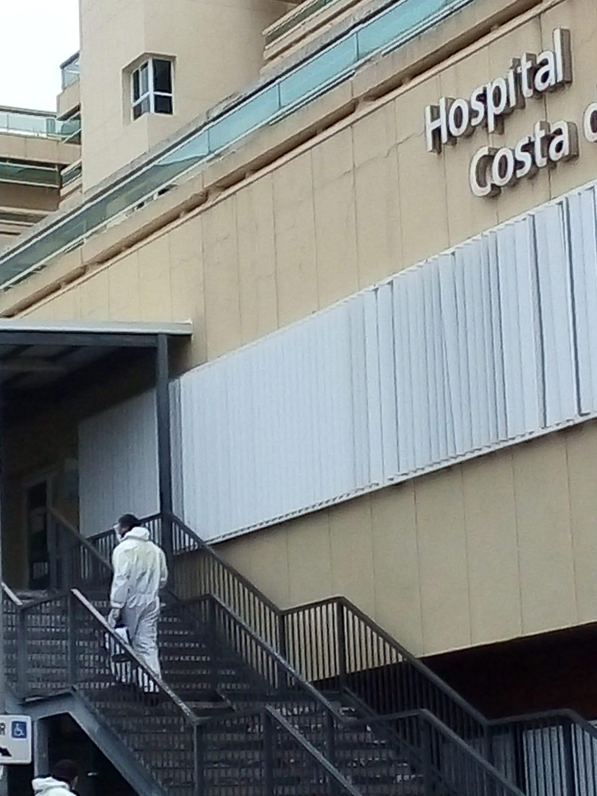 Marbella refuerza las labores de desinfección en espacios públicos