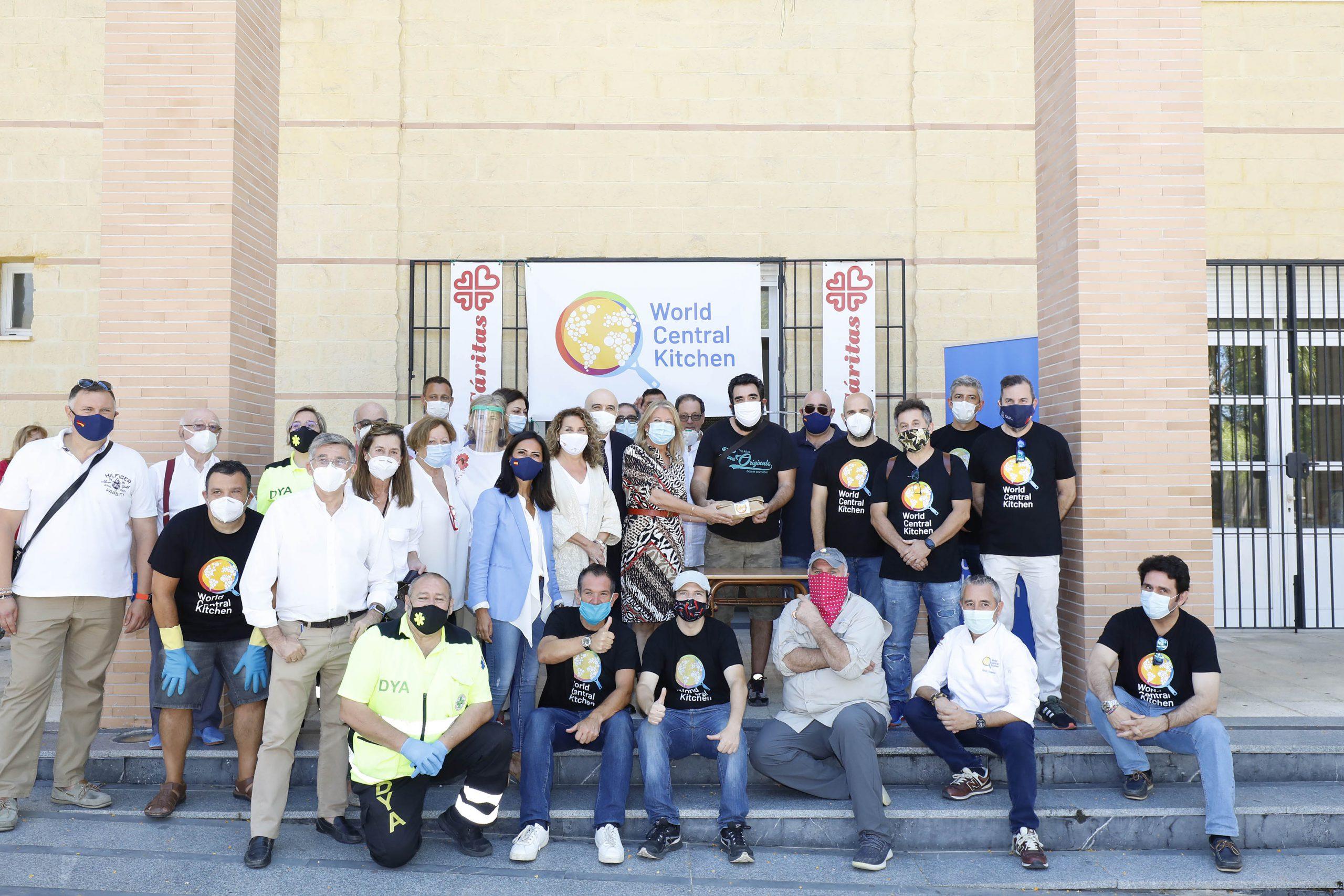 Destacan solidaridad y compromiso World Central Kitchen de José Andrés
