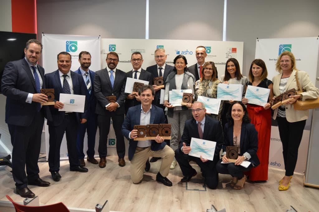 Doce primeros premios a la excelencia médica de Vithas en los Best Spanish Hospitals Awards
