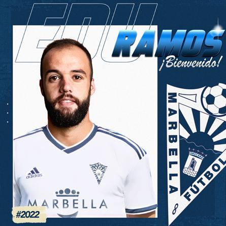Edu Ramos llega al Marbella FC, al tiempo que se marcha Lolo Pavón