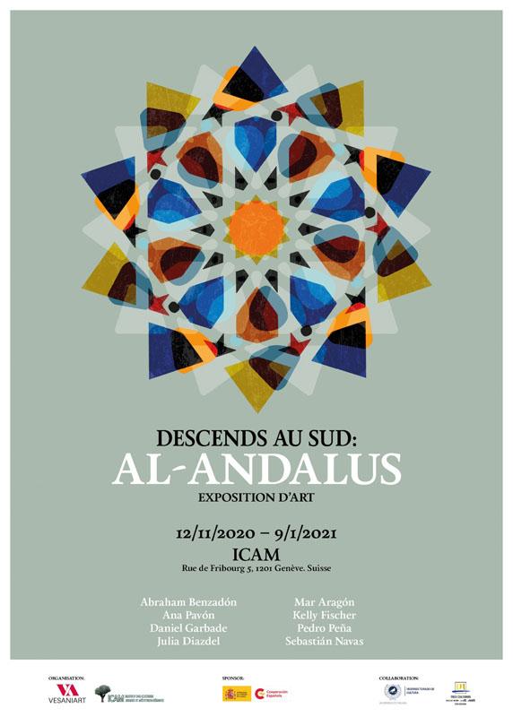 El artista marbellí Pedro Peña, en la Exposición Internacional 'Baja al Sur: Al-Ándalus'