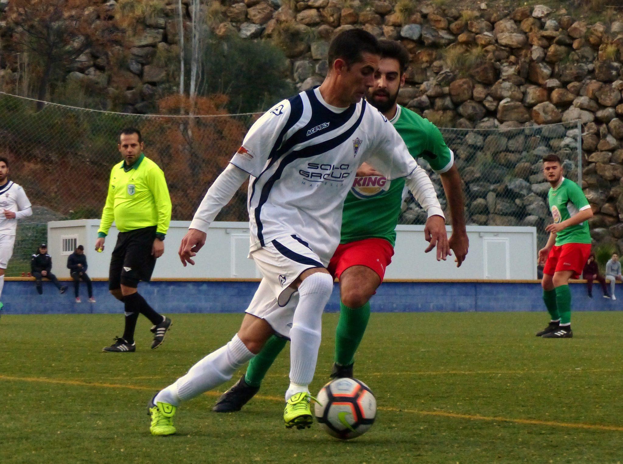 El Atlético Marbella consigue una gran victoria ante el Trabuco (4-1)