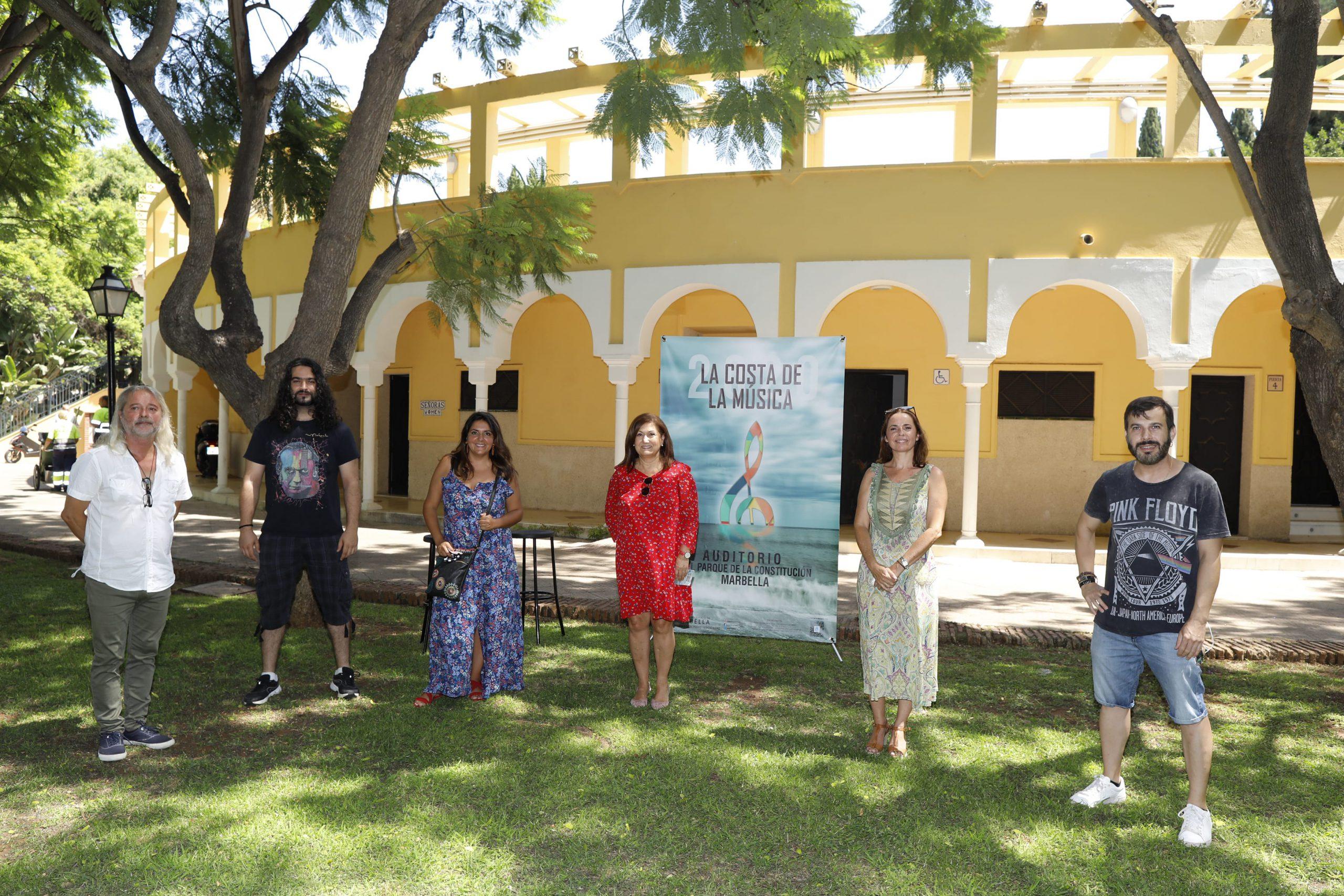 El Auditorio del Parque de la Constitución acogerá el ciclo 'La Costa de la Música'