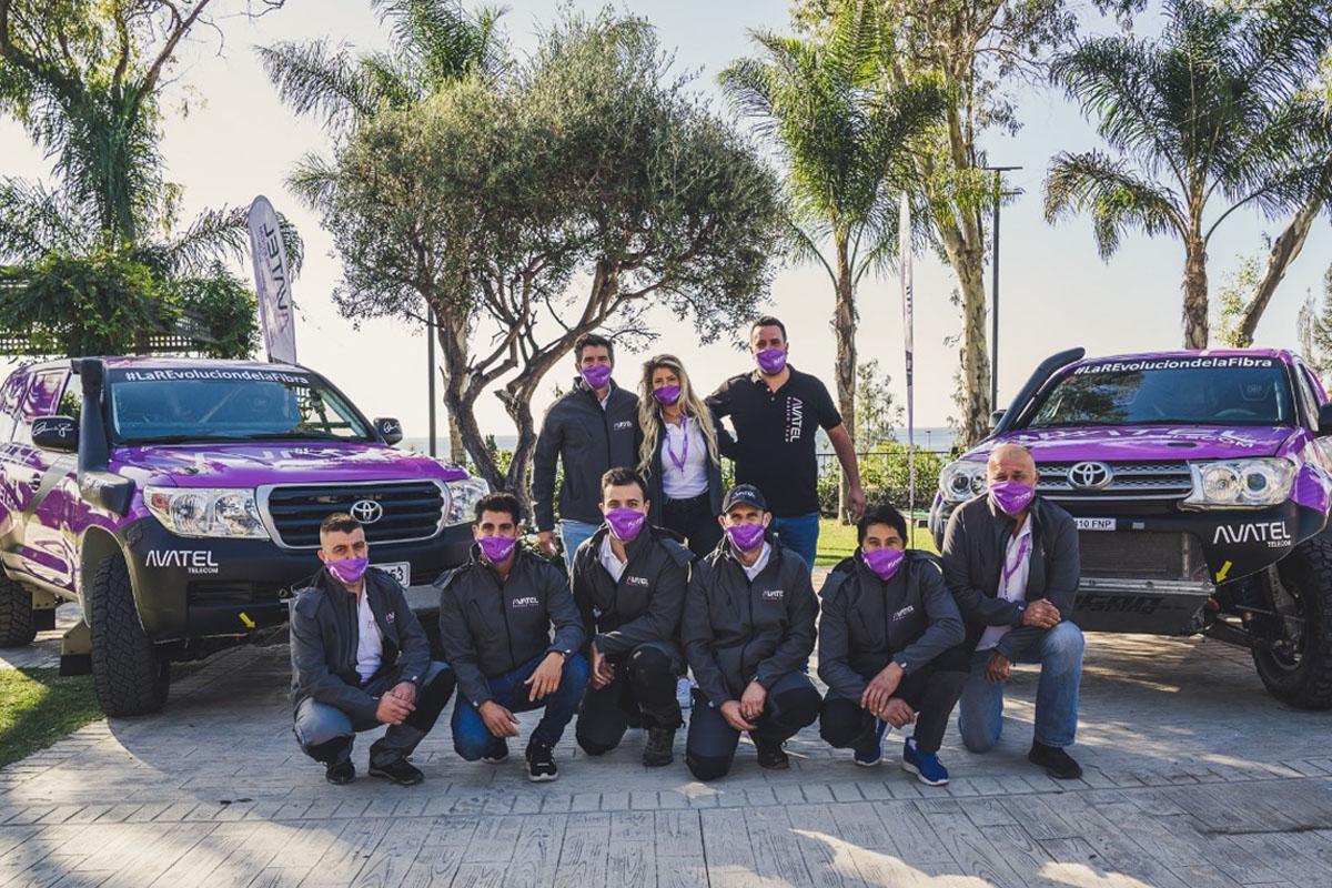 El Avatel Racing Team, la marca marbellí en el Rally de Andalucía