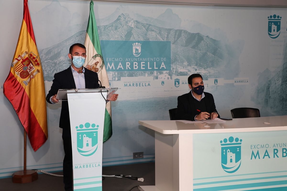 """El Ayuntamiento apela a """"la responsabilidad individual"""" para frenar contagios en Marbella"""