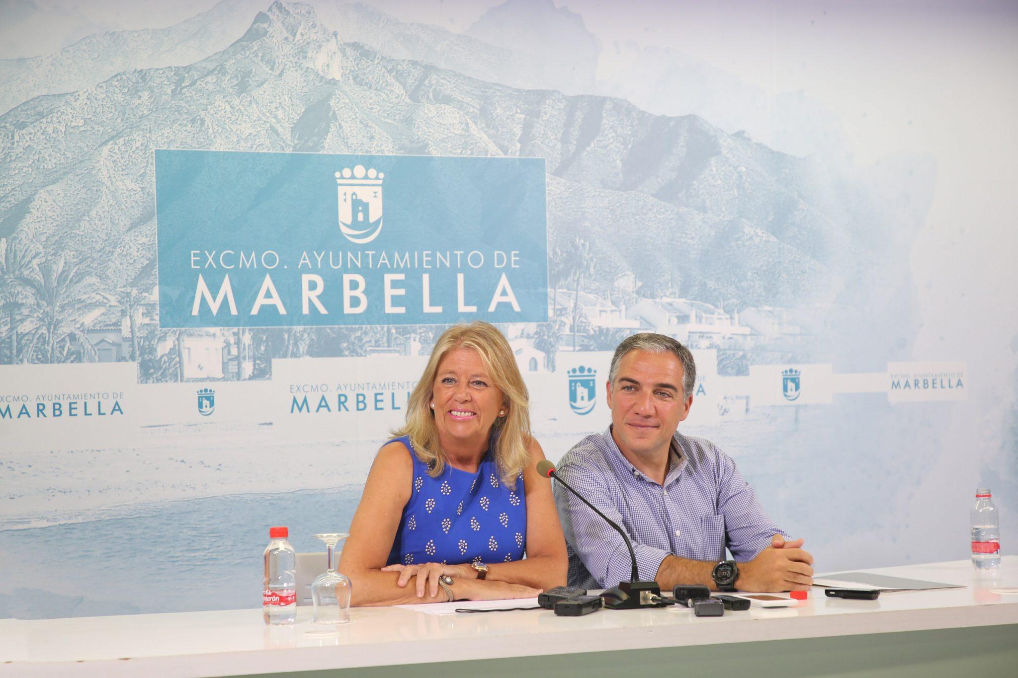 El Ayuntamiento de Marbella recibe de la Diputación Provincial de Málaga 647.000 euros