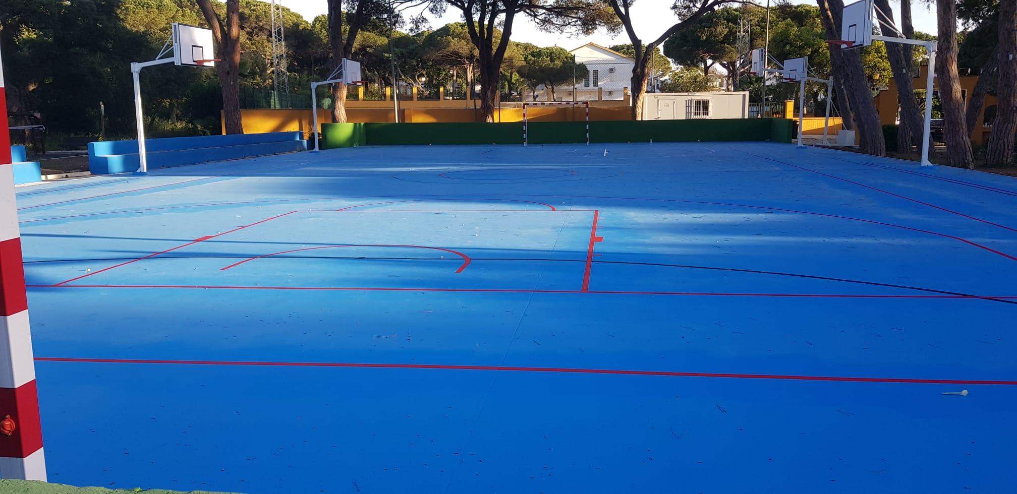 El Ayuntamiento finaliza las obras del complejo deportivo de Santa María de Las Chapas